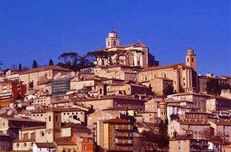 Italia - Marche, veduta di Fermo
