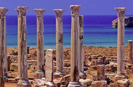 Libia - Sito archeologico di Sabratha