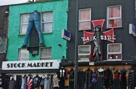 Londra, i negozi di Camden