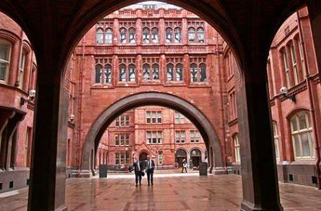 Londra - Interno del palazzo di giustizia