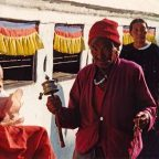 Nepal, pellegrini intorno al tempio di Pashupatinath