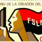 Ncaragua, francobollo commemorativo della creazione del Fsln