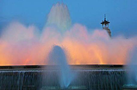 Spagna - Barcellona - Fontana Magica di Montjuïc