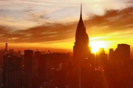 Stati Uniti - Tramonto a New York