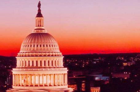 Stati Uniti - Tramonto a Washington