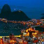 Brasile - la notte a Rio de Janeiro