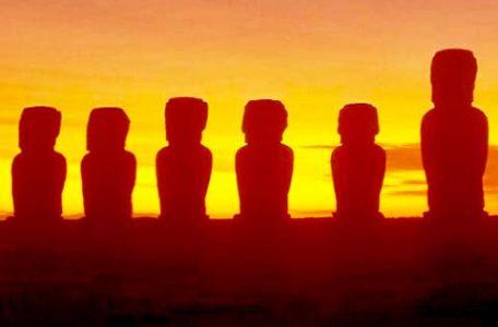 Cile - I moai dell' Isola di Pasqua