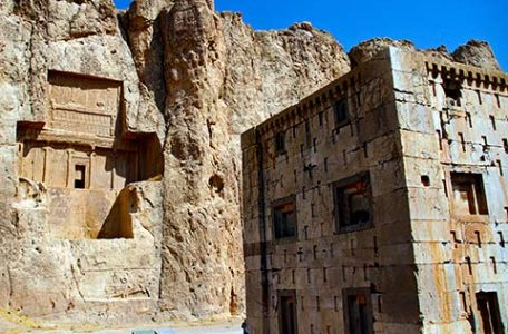Iran - Le tombe dei re achemenidi a Naqsh-e Rostam