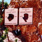 Francia - Vetta dell' Izoard - Targa commemorativa Fausto Coppi - Foto Pierluigi Cortesi