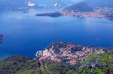 Lago Maggiore - Laveno vista da Sasso del Ferro
