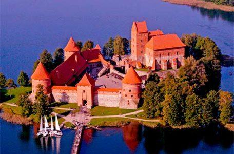 Lituania - Castello di Trakai
