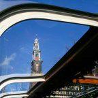 Olanda - Amsterdam vista da uno dei barconi che percorrono i canali