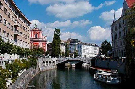 Slovenia - Lubiana, il doppio ponte - Foto di Rosalba D'Adamo