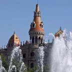 Spagna - Barcellona - Al parc Guell