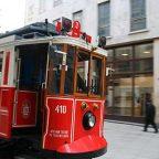 Turchia - i vecchi tram di Istanbul