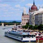 Ungheria - Budapest - Battello sul Danubio di Rosalba d'Adamo
