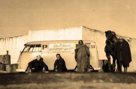 Vittorio Capannari in Tunisia - dal racconto di ENO SANTECCHIA