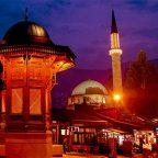 Bosnia Erzegovina - Sarajevo - Moschea nel quartiere Barscarsija