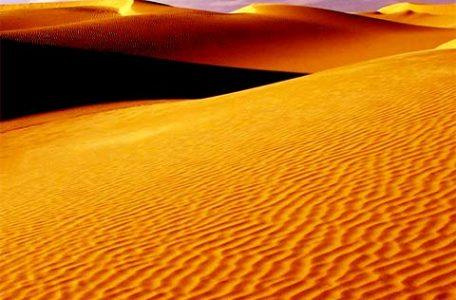 Il deserto del Sahara in Algeria