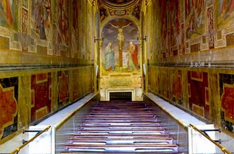 La Scala Santa a Roma
