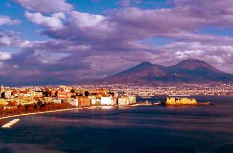 Napoli e il Vesuvio