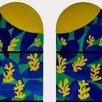 Nizza - Le vetrate di Matisse nella Chapelle du Rosaire di Vence