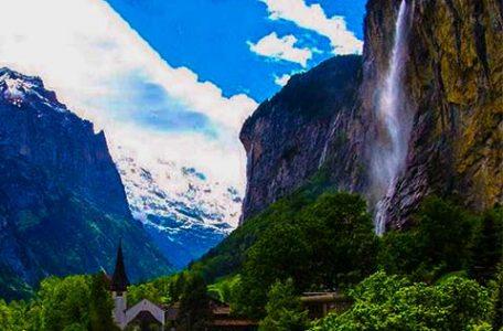Svizzera - Le cascate di Trummelbach