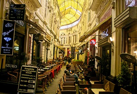 Macca-Villacross Passage in Bucharest