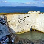 Inghilterra del sud - Old Harry Rocks nella Jurassic Coast