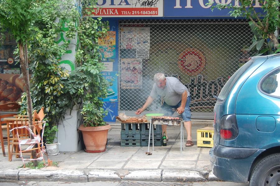 Grecia - Atene - street food