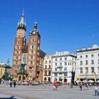 Polonia - Cracovia - La piazza del mercato