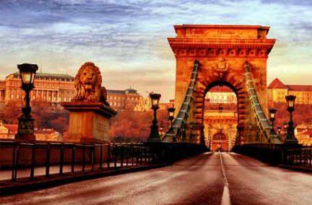 Ungheria - Budapest - Il Ponte delle catene