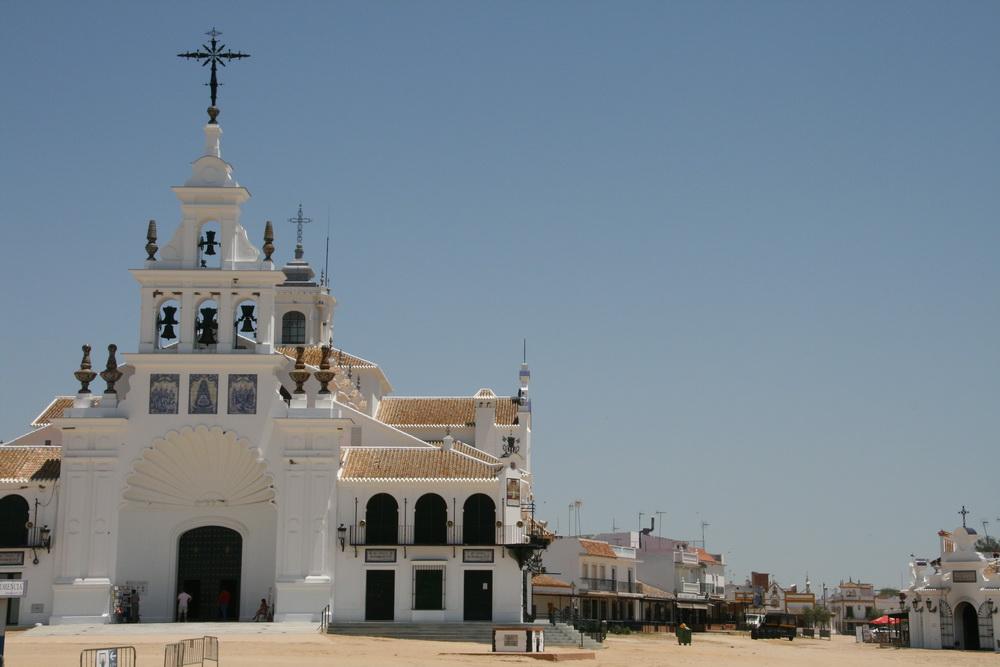 Santuario de Nuestra Señora del Rocio in Andalusia