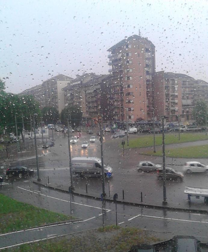 Piove a Torino