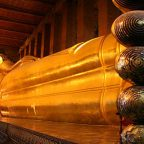 Thailandia - Bangkok, Wat Pho Il tempio del Buddha sdraiato