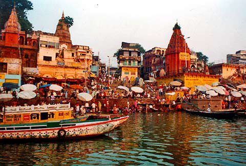 Viaggio in India del Nord - I ghat di Varanasi la città sacra