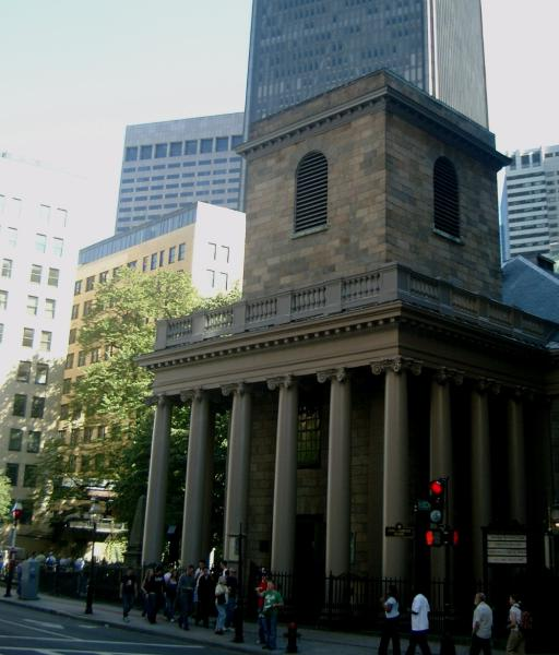 King's chapel a Boston