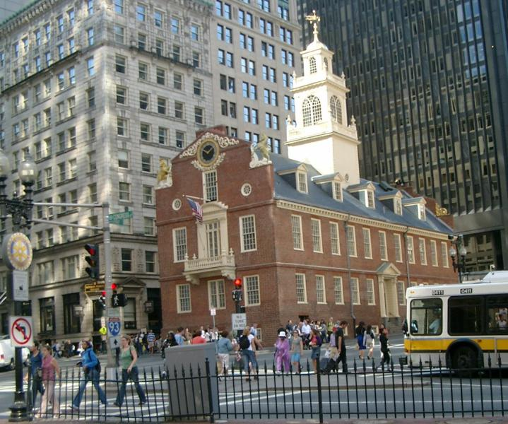 Old state house Boston