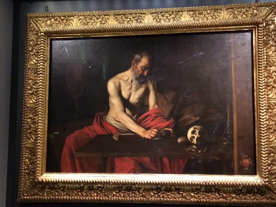 CARAVAGGIO San Girolamo scrivente