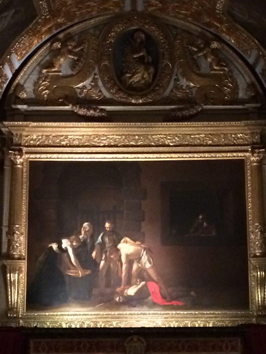 Caravaggio Decapitazione di San Giovanni