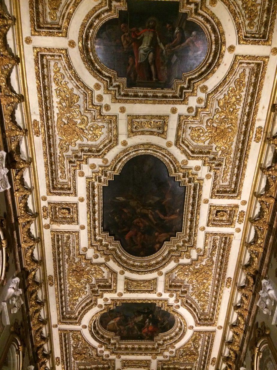 Cattedrale di San Giovanni, Oratorio, Volta