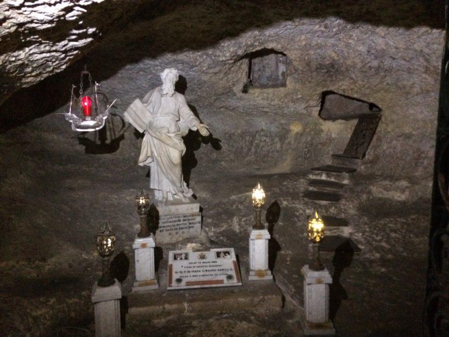 Rabat, Grotta di San Paolo