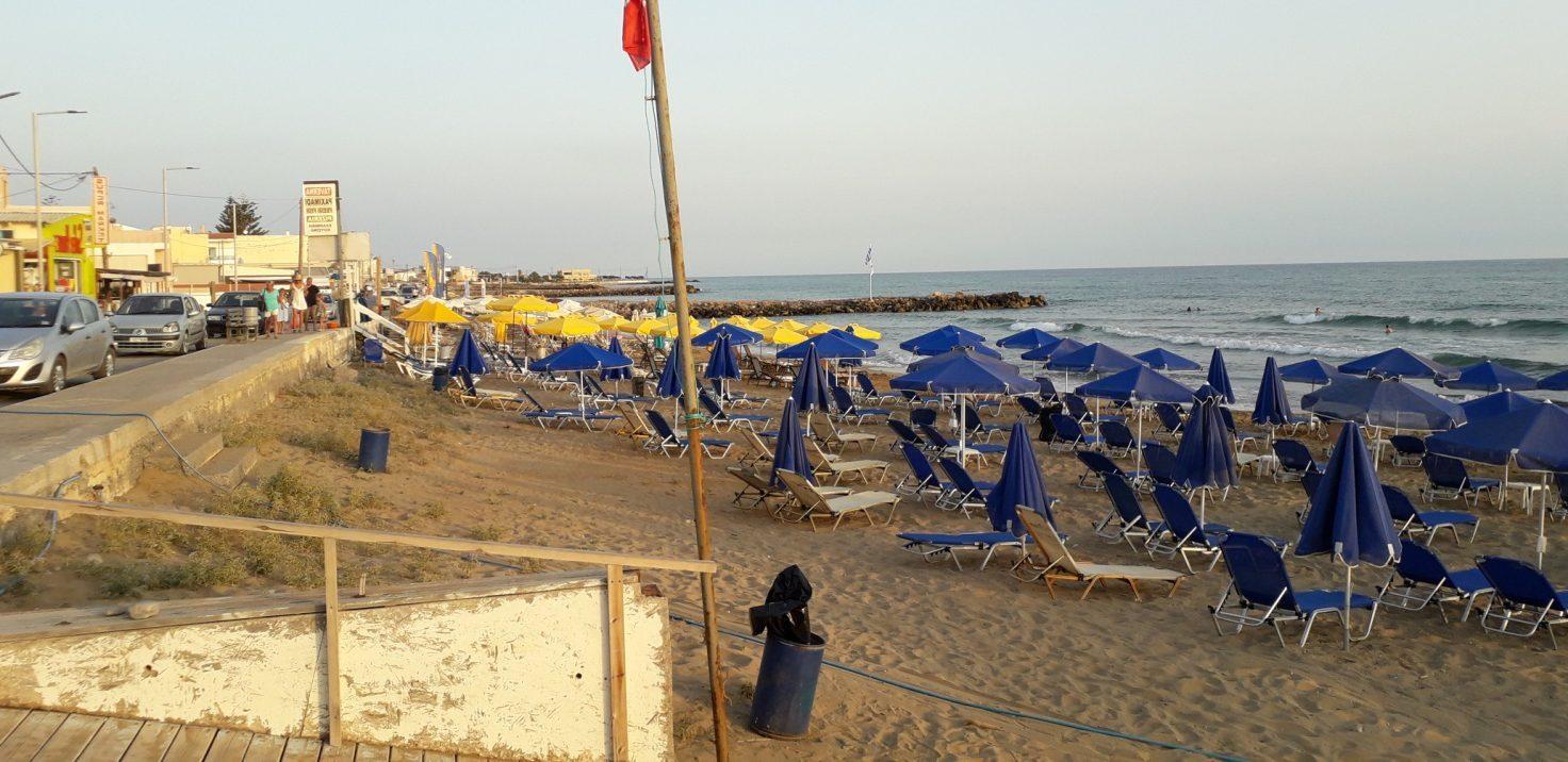 la spiaggia di Kokkini.jpg