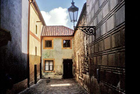 Viagg a Praga - La via d'oro