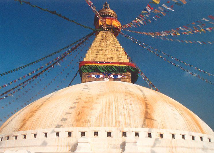Monaci nel tempio del Budda di Giada